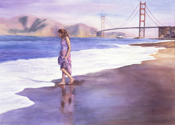 Landscape and Seascape Art, Paintings by Susan Kraft