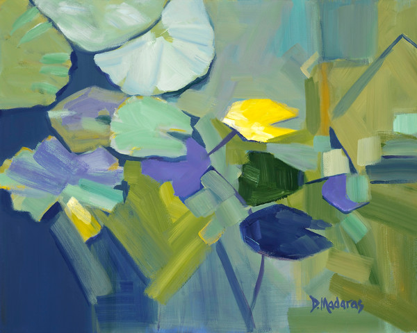 Abstract Floral Painting | Tucson Art Gallery | Floating