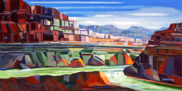River in the Canyon | Southwest Art | Tucson Art Gallery