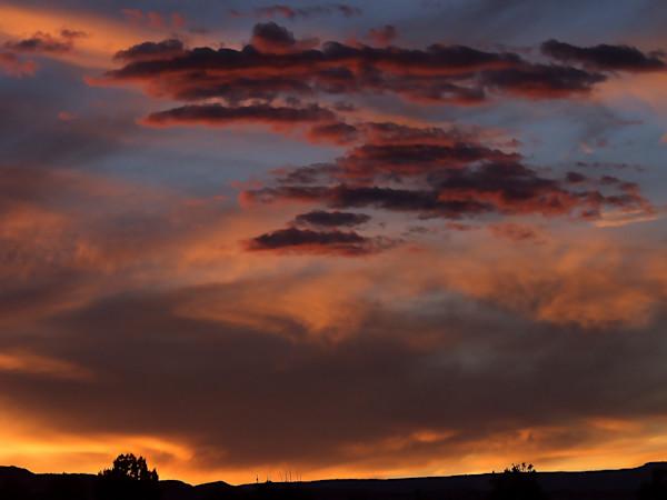 Harris Wash Sunset near Escalante, Utah