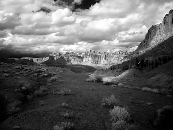 Capitol Reef, Infrared