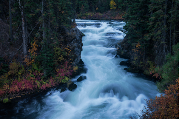 Benham Falls, Deschutes River Oregon