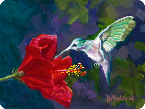 Hummingbird Cutting Board | Southwest Art | Gallery