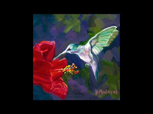 Hummingbird Trivet | Southwest Art | Tucson Art Gallery