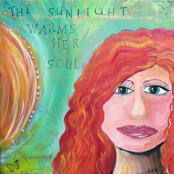 Sunlight Warms Her Soul Art For Sale
