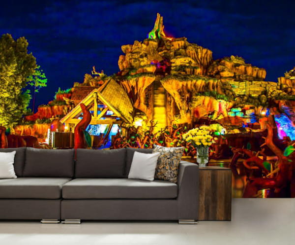 Splash Mountain 2 - Disney Wall Murals | William Drew
