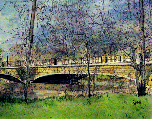 """Old Stone Bridge Art for Sale"""
