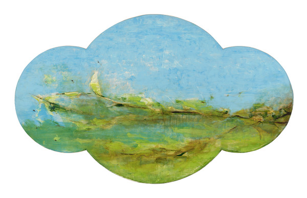 shaped canvas-art, shaped landscape-art, abstract landscape-art