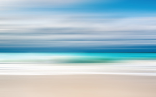 Abstract Beach (Turks and Caicos) by Pierre Ribout | SavvyArt Market photograph