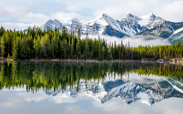 Reflection (Banff) by Pierre Ribout | SavvyArt Market photograph