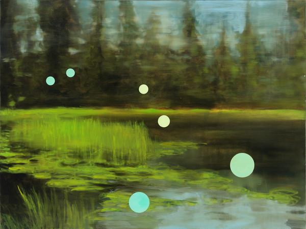 abstract landscape-art, post-modern landscape-art