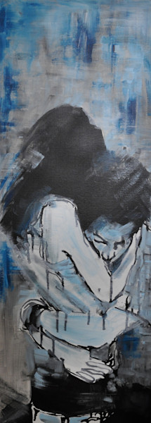 Young Love Original Painting by Steph Fonteyn