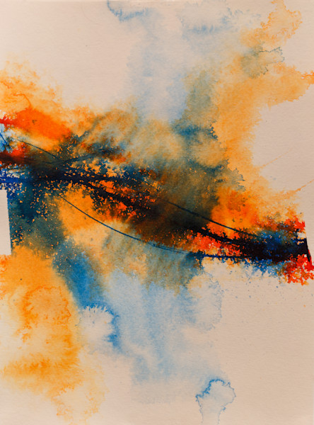 "Liquid Series, ""Splash"" - Taft McWhorter Art - Original Abstract Art - Abstract Paintings"