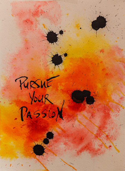 """Passion Series, """"Red"""" - Taft McWhorter Art - Original Abstract Art - Abstract Paintings"""