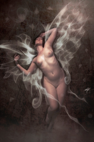 angel photography Nude fantasy