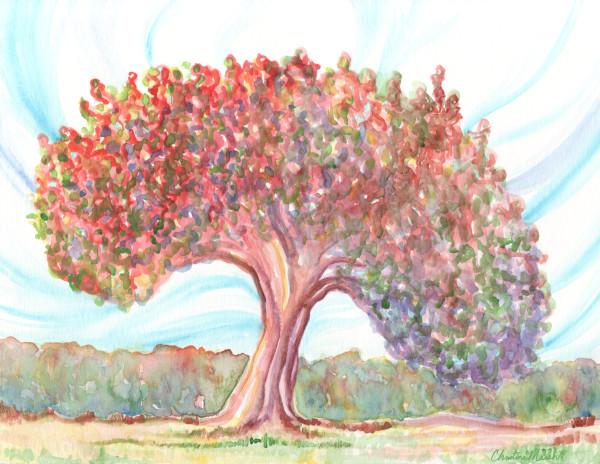 Colorful Tree Art