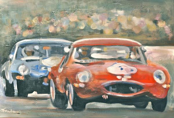 Original Car Paintings by Steph Fonteyn