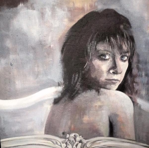 Beautiful Imperfection Original Acrylic Painting by Steph Fonteyn