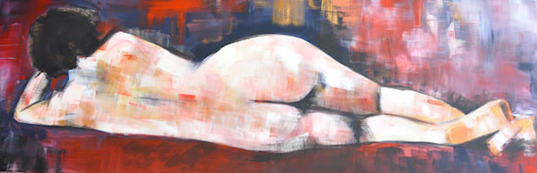 Busy doing nothing Original Painting by Steph Fonteyn