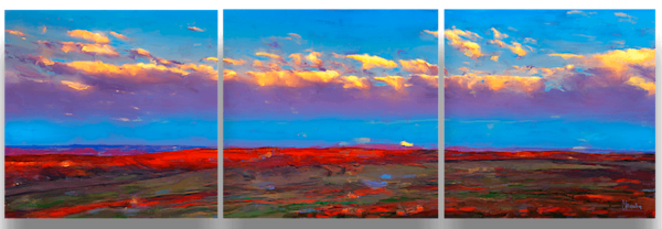 Moab Sunrise I Art Wall by Christina Stefani – Stefani Fine Art