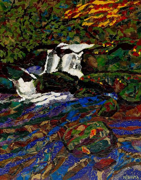 Early Autumn Waterfall
