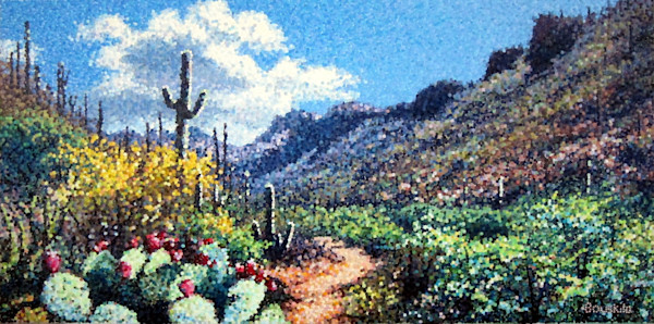 Sabino Spring by Martyn Bouskila | Madaras Gallery Tucson