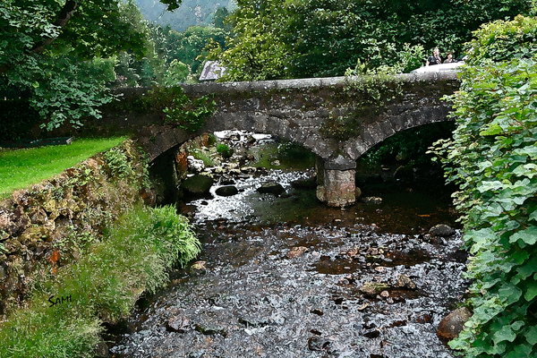 Stone Bridge - Glendalough Ireland