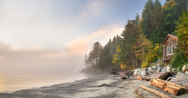 Foggy Morning On Hopkins Beach