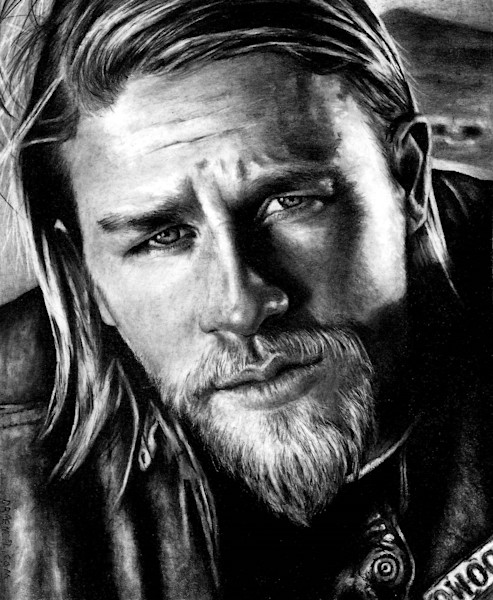 Charlie Hunnam | Dr.Pencil Portraits
