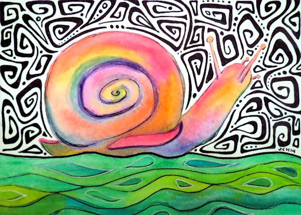 Groovy Snail Art For Sale