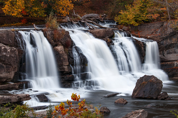 High Falls Waterfall in upstate NY by Fine Art Photographer Steven Archdeacon.