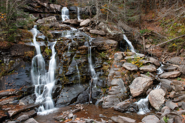 Kaaterskill Falls small Waterfall Fine Art Photographs by Steven Archdeacon.
