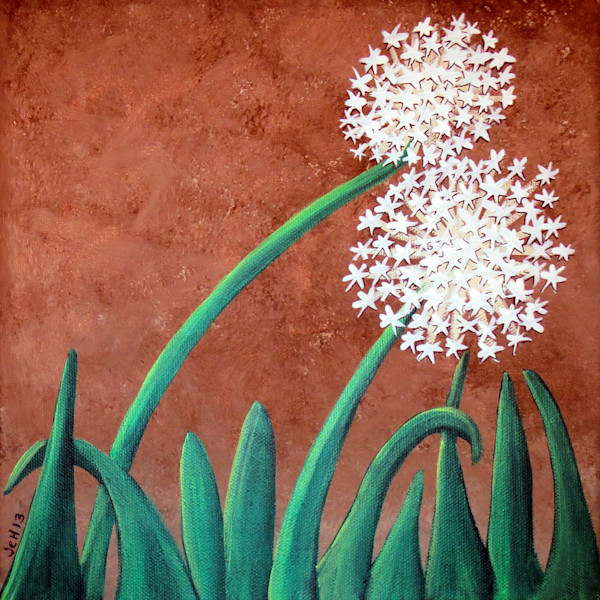 Dandelions On Chocolate Art For Sale