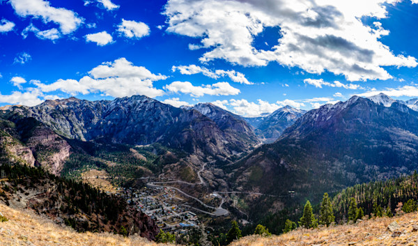 Markus Van Meter Alpine Photography-Ouray Panorama from Twin Peaks Trail