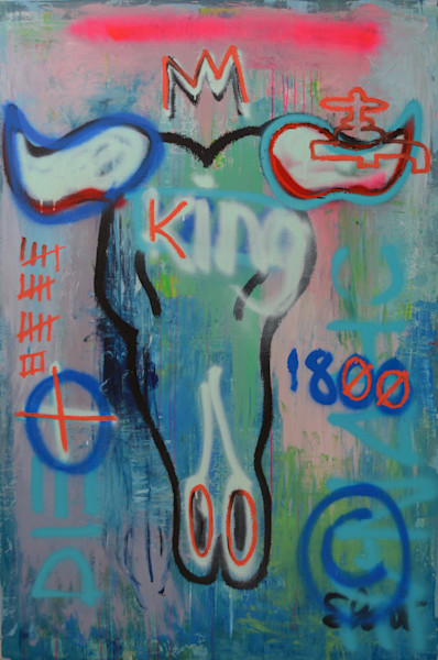 Beef is King I Fine Art Prints about Sustainability by Steph Fonteyn