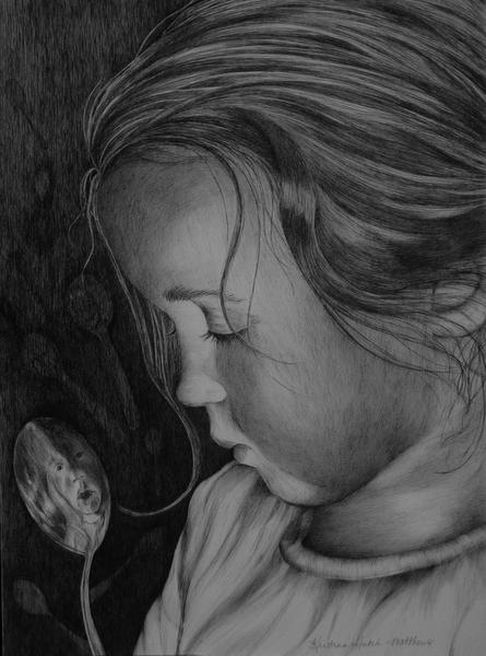 Unbridled Silence Art by kristinahutchmatthews