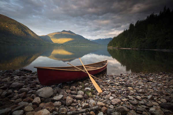 Slocan Lake Canoe