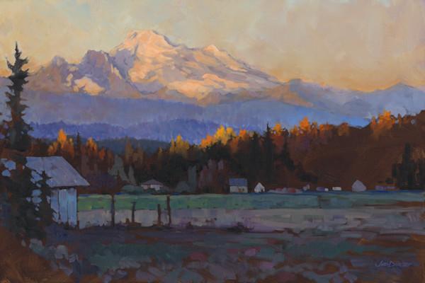 Late October Light - Mt. Baker