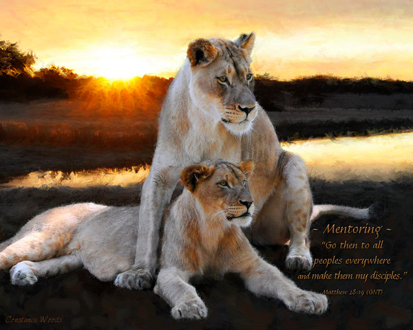 """Lioness Strength"" by Constance Woods 