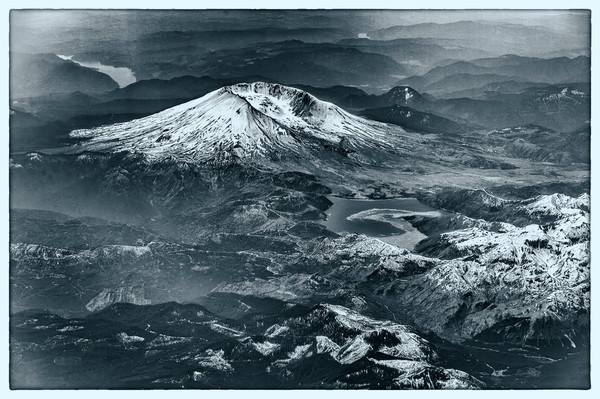 Aerial View of Mount St. Helens