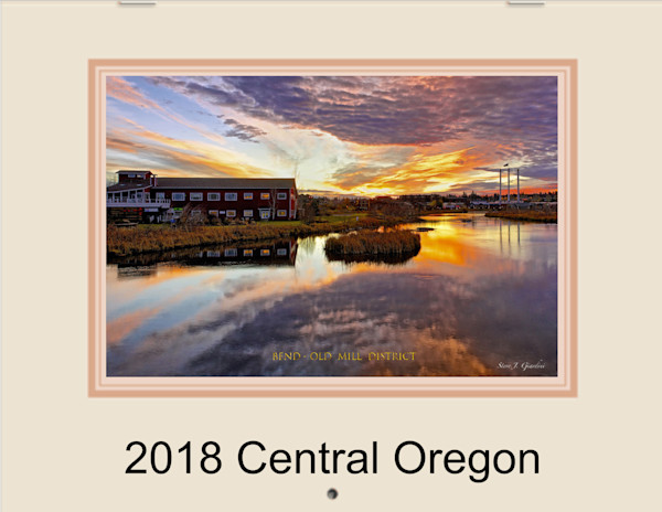 2018 Central Oregon Fine Art Photo Calendar