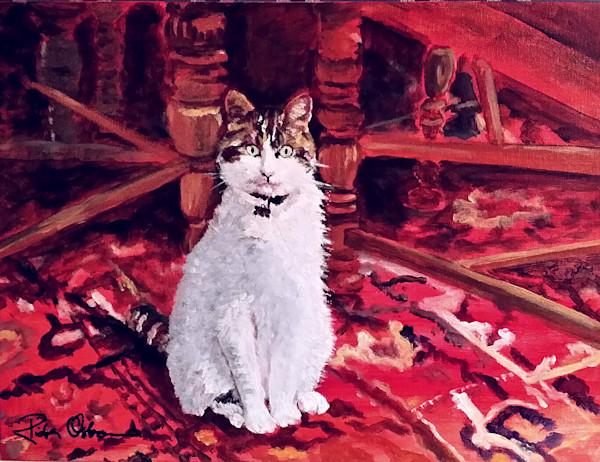 Custom Fine Art Pet Portraits Paintings and Prints by Rick Osborn