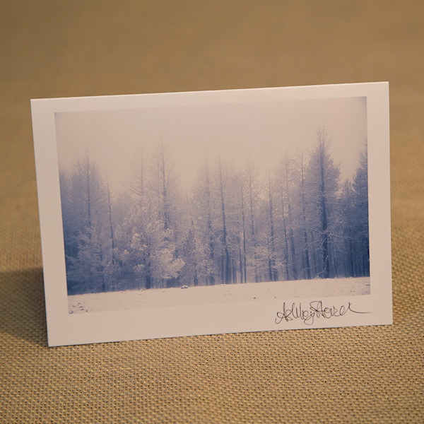 One Snowy Malheur Notecard