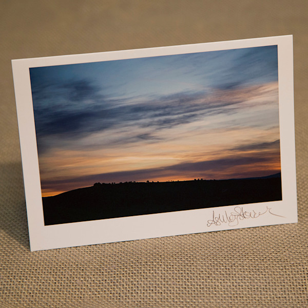 One Sunrise Notecard