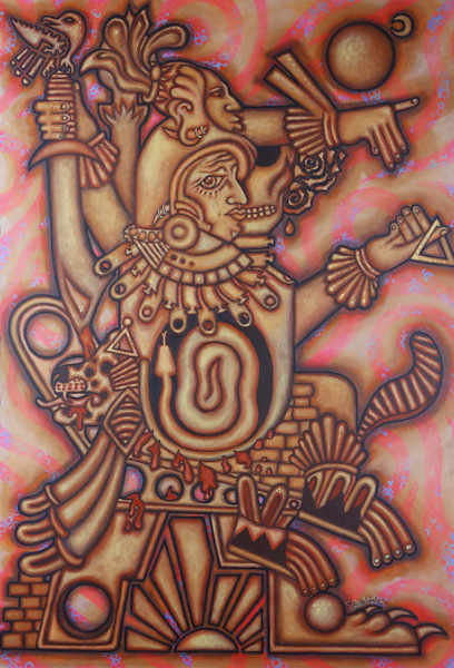 Mesoamerican art style by Adelaide Marcus