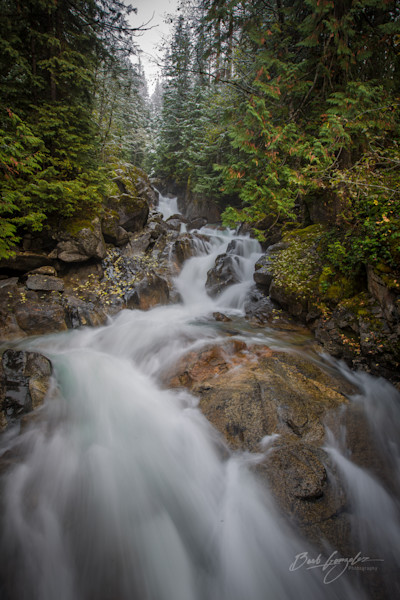 Flowing Deception Falls Photo for sale by Barb Gonzalez Photography