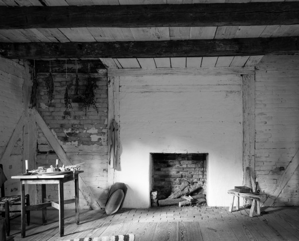 Inside the Slave Quarters, from Stagville: Black & White (November 2012)