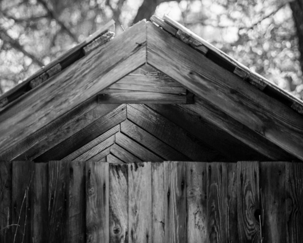 Tobacco Barn, from Stagville: Black & White (October 2011)