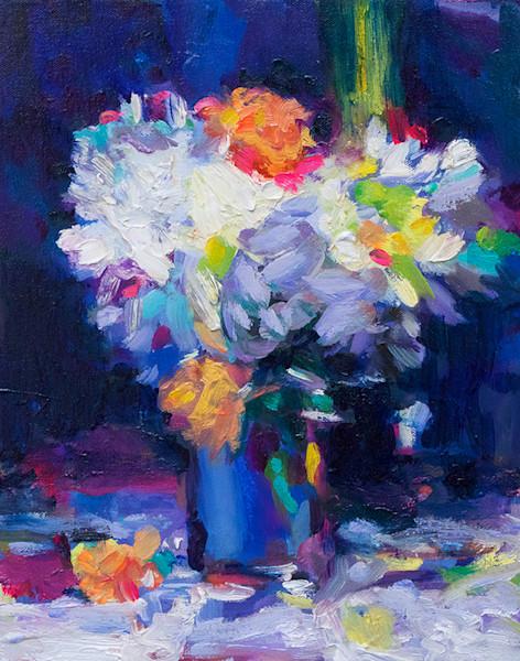 Western painter Blue Still LIfe Charles Wallis