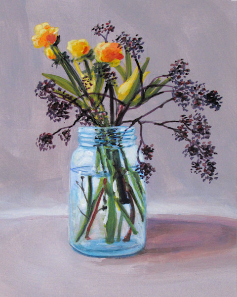 Country Floral Still Life